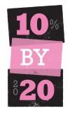 10 by 20 logo