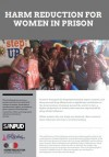 Harm Reduction for Women in Prisons