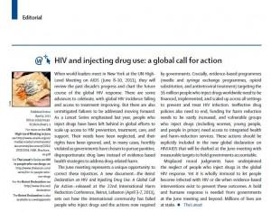 Lancet Editorial