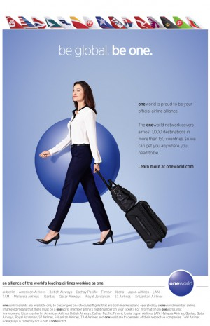 oneworld advert