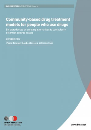 Community-based drug treatment models for people who use drugs