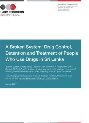 Sri Lanka Drug Control Summary